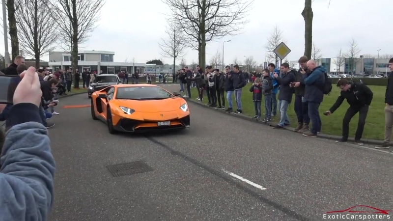 Lamborghini Aventador LP750-4 SuperVeloce - Launch Control, Revs Accelerations