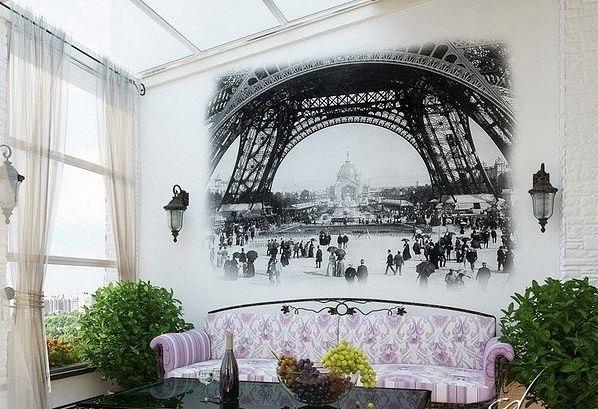 Маленький Париж в гостиной