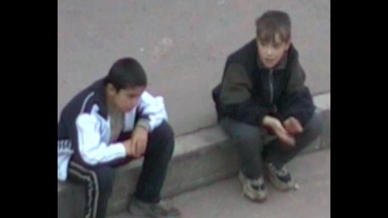 Вандализм. Южное Бутово 2006.