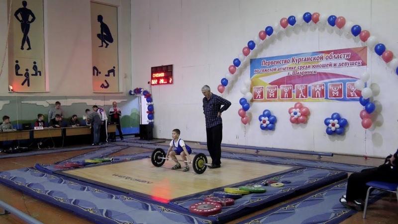 Первенство Курганской области по тяжелой атлетике в спорткомплексе Олимп