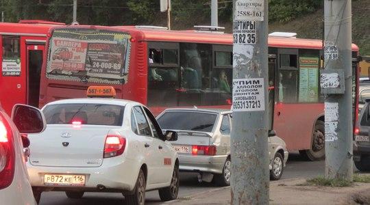 В Казани изменяется схема движения 5 автобусных маршрутов - движение общественного транспорта переносится с...