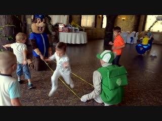 Детский день рождения в Банкетном зале Santorini