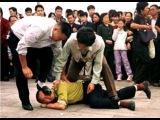 НТВ о репрессиях Фалуньгун (эти кадры так и не показали по телевизору)
