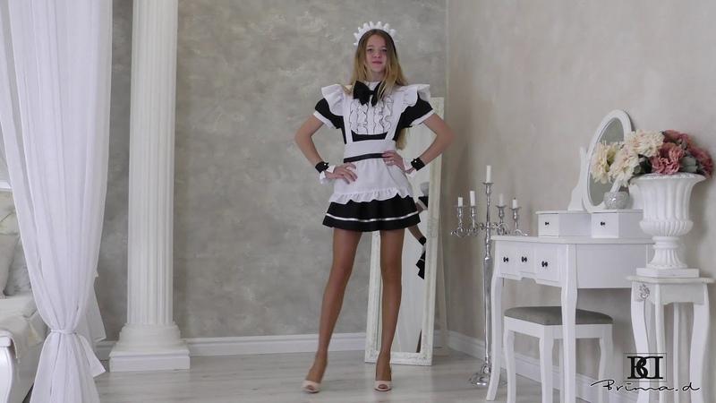 Model Jessy dress presentation agency Brima.d