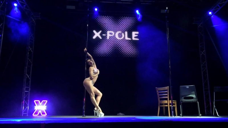 Michelle Shimmy - Guest Performance at Pole Theatre UK