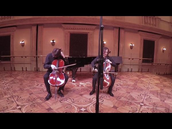 Popper. Dance of the elves Elfentanz. Arr. for 2 cellos. Peter Kondrashin, Arseny Kotlyarevsky