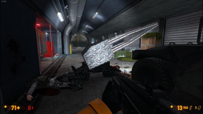 Black Mesa в стиме . Ксеновская турель из мода Superbus Via Inscientiae