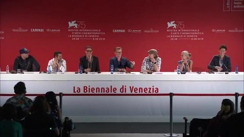 La Biennale di Venezia - Live streaming della conferenza stampa del film Driven a Venezia75 sabato 8 settembre Facebook (SD)