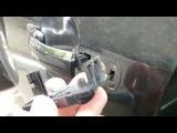 Снятие ручек дверей Mondeo 3 Mondeo mk3 door handle removal
