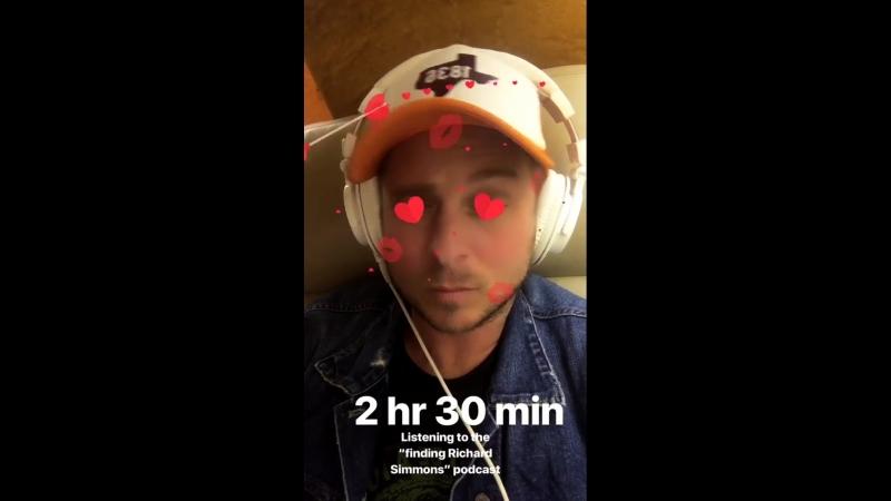 2 с половиной часа слушания подкаста (вещания) В поисках Ричарда Симмонса