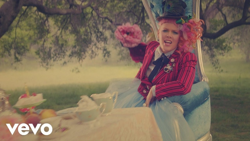 P!nk - Just Like Fire (From the Original Motion Picture Alice Through The Looking Glass)