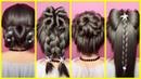 Красивые прически на каждый день😍 - прически на длинные и средние волосы