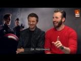 Movie Maniacs  Интервью каста Мстителей (Rus Sub)