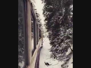 მატარებელი ბორჯომი ბაკურიანი