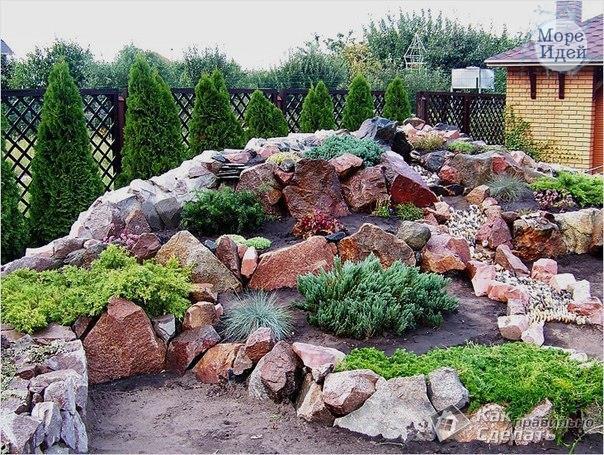 Ландшафтный дизайн пошагово с фото