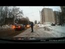Кострома. Наезд на пешехода на ул. Центральная, 16 февраля 2018 г.