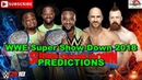 WWE Super Show Down 2018 SmackDown Tag Team Championship The New Day vs The Bar Predictions WWE 2K1