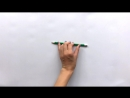 Пальчиковая гимнастика с карандашом
