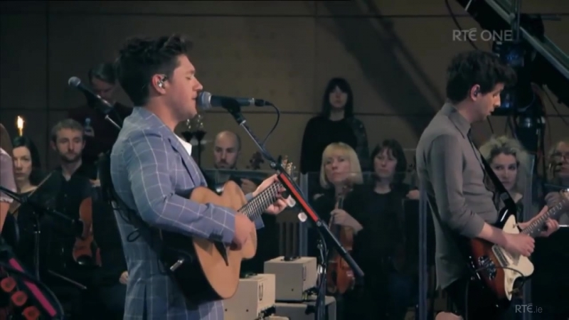 Niall Horan with the RTÉ Concert Orchestra Saturday 12 May 2018 Part 1