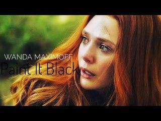 Wanda Maximoff || Paint It Black