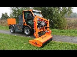 RASCO-MUVO (аналог BOKI-HY) - коммунальный транспортёр (трактор с платформой), гп 2,8 т., приц. 3 т