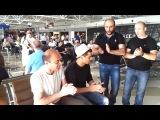 Классное исполнение! Грузины в аэропорту Борисполь