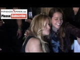 Jennifer Coolidge greets fans outside of Hennessys Nightclub in Hollywood