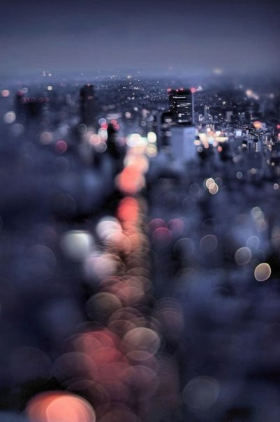 """Сногсшибательная серия фотографий от Такаши Китаджима """"Ночной Токио"""""""