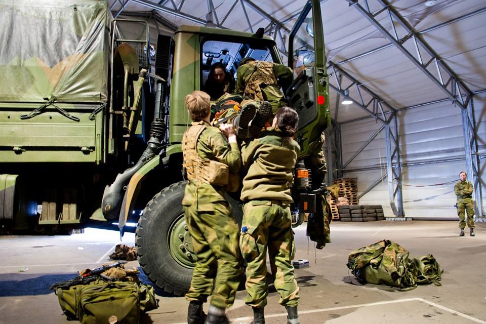 Norwegian army logistics