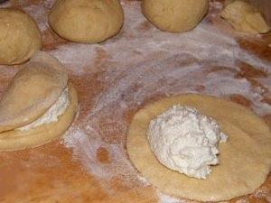 Сочники с творогом Ингредиенты: Тесто: -Масло сливочное –100 гр.; -Сахар мелкий