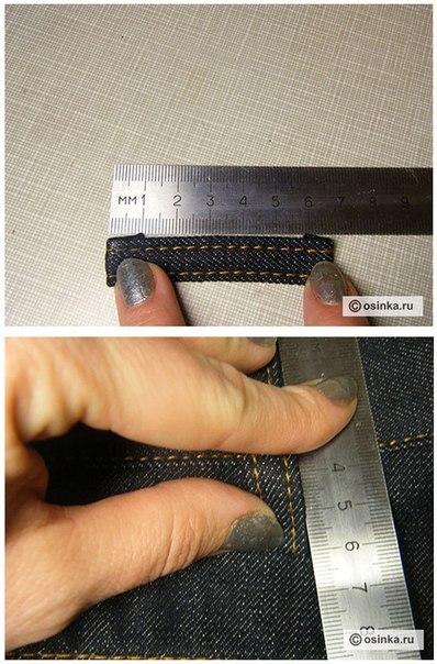 Как сшить шлевки на джинсы 81