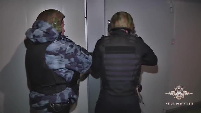 ОМОН на задержании автомошенников оперативная съёмка