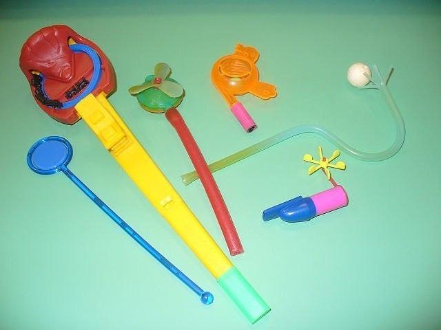 предметы для дыхательной гимнастики своими руками