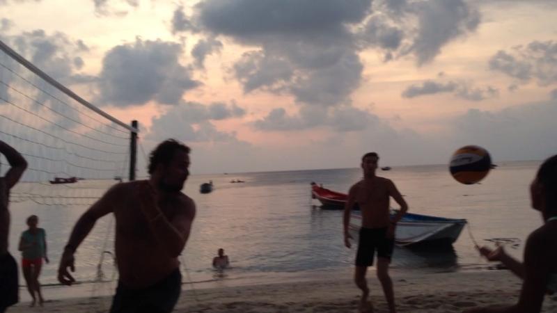 Волейбол мировой на Ко-Тао