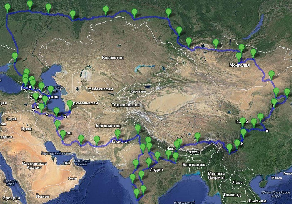 Autoexpedition The Great Silk Route