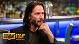 Keanu Reeves Talks Filming John Wick 3 Fight Scenes, Almost Changing His Name, More Sunday TODAY