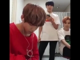 RECALL WHEN TAEHYUNG WAS LYPSINCING SONGS AND MAKING ARMYs GUESS BUT THIS TIME THE INTRO WAS TOO LONG SO JHOPE AND JIMIN JUST-