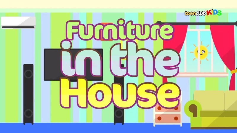 Furniture in the House | Children's Songs Nursery Rhymes