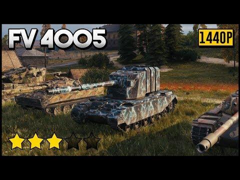 FV4005 Stage II 13k Damage 7 Kills World of Tanks