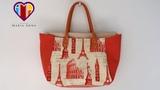Bolsa com necessaire Europa. How to do, make or sew a fabric bag. DIY. Step by step bag tutorial