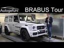 BRABUS Factory Tour with G-Class S-Class 900 hp vintage 300 SL - Autogefühl