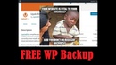 How to Backup Your Wordpress Website Free WP Plugin Offsite Remote Backup