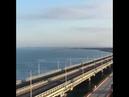 Проход пары Су-25 у Крымского моста. Корабли ВМС Украины пересекли государственную границу России
