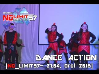 DANCE ACTION [NO_LIMIT57- 21.04, Orel 2018]