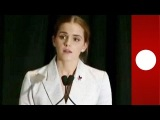Emma Watson threatened with naked photos leak after UN equality speech [SPEECH EXCERPT]