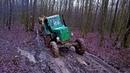 Т-40, МТЗ Тракторы на диком бездорожье! Этим тракторам дороги не нужны, главное направление!