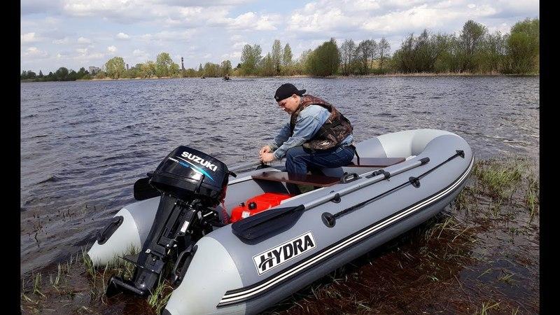 Suzuki 9.9 - ТАПКА В ПОЛ! Мотор на разных лодках - Hydra, Roger, RiverBoats