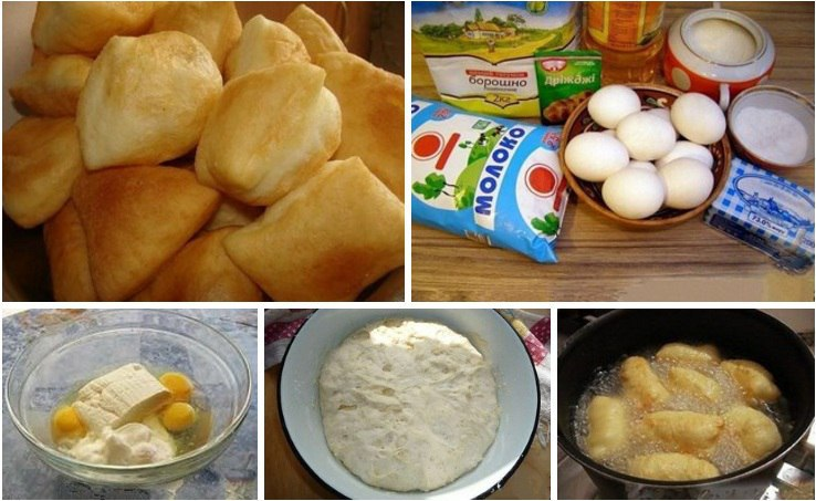 Казахские баурсаки рецепт на сметане