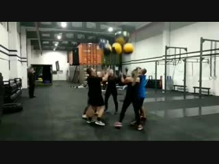 Максим в фитнес-центре «Taiga CrossFit». День второй