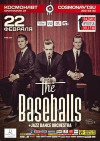 22-24-25.02 - THE BASEBALLS. еренос концертов на апрель.
